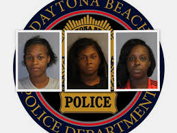 Daytona cops capture 3 women in citywide shoplifting spree