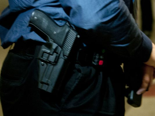 More armed security officers in US schools, study finds